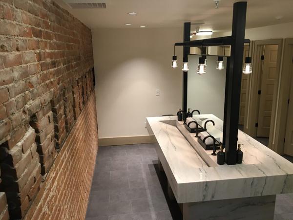 Balsam building restroom